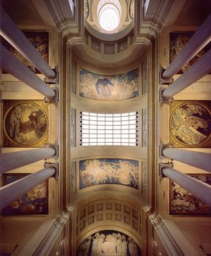 Famous paintings of Paintings of paintings: Ceiling Mural