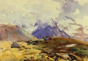 Reproduction oil paintings - Sargent - The Simplon