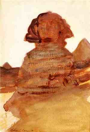 Reproduction oil paintings - Sargent - The Sphinx