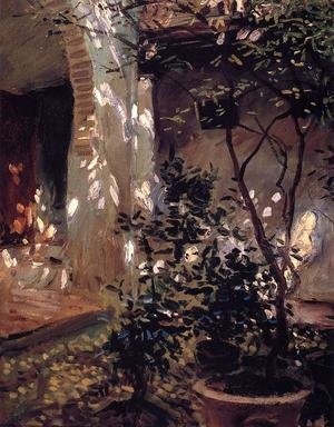 Reproduction oil paintings - Sargent - Granada  Sunspots
