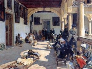 Reproduction oil paintings - Sargent - Hospital At Granada