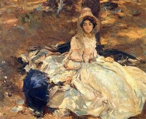 Reproduction oil paintings - Sargent - The Pink Dress