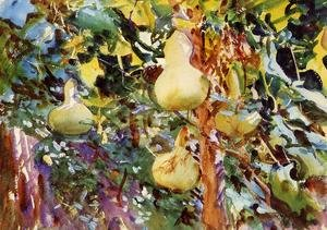 Reproduction oil paintings - Sargent - Gourds