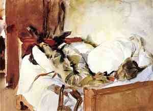 Reproduction oil paintings - Sargent - In Switzerland