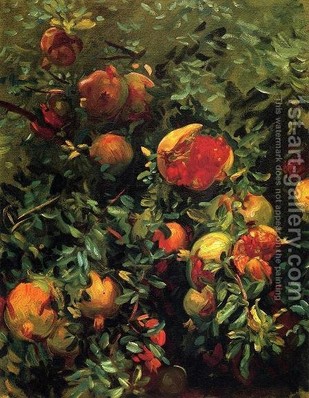 Sargent: Pomegranates - reproduction oil painting
