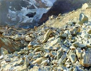 Reproduction oil paintings - Sargent - The Moraine