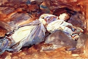 Reproduction oil paintings - Sargent - Violet Sleeping