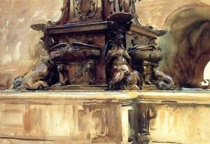 Reproduction oil paintings - Sargent - Bologna Fountain