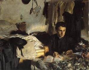 Reproduction oil paintings - Sargent - Padre Sebastiano