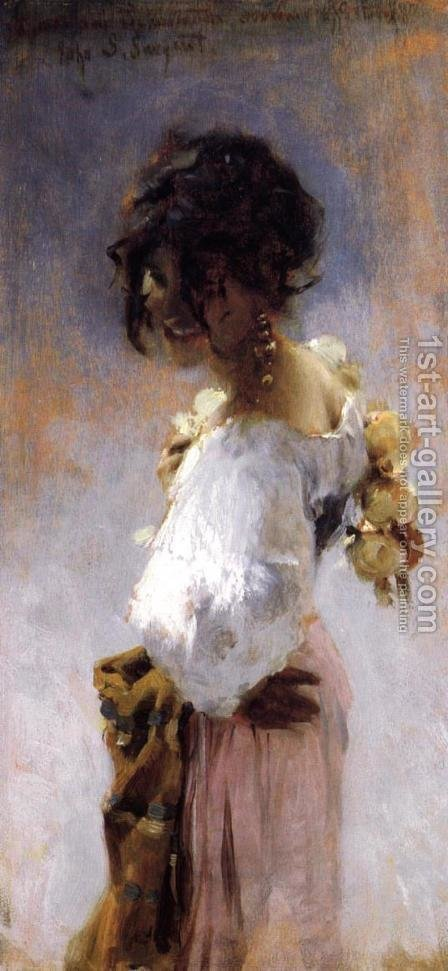 Sargent: Rosina - reproduction oil painting