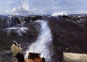 Reproduction oil paintings - Sargent - Atlantic Storm