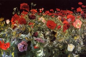 Reproduction oil paintings - Sargent - Poppies