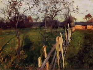 Famous paintings of Palisades: Home Fields