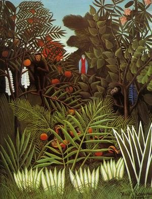 Famous paintings of Rainforests & Jungles: Exotic Landscape