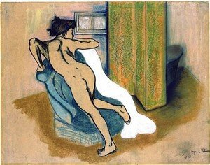 Reproduction oil paintings - Suzanne Valadon - Frauenakt