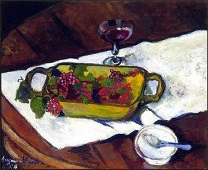 Reproduction oil paintings - Suzanne Valadon - Still Life Grapes