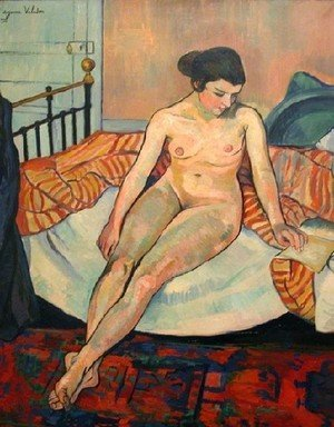 Reproduction oil paintings - Suzanne Valadon - Sitting Nude