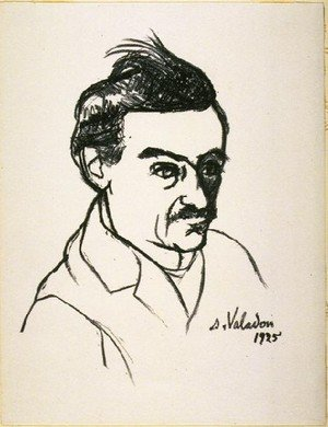 Reproduction oil paintings - Suzanne Valadon - Portrait Of Utrillo
