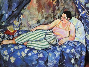 Reproduction oil paintings - Suzanne Valadon - The Blue Room