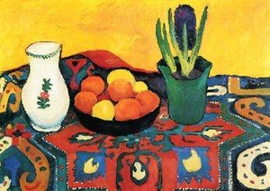 Expressionism painting reproductions: Style Life With Fruits