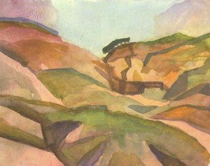 Expressionism painting reproductions: Landcape