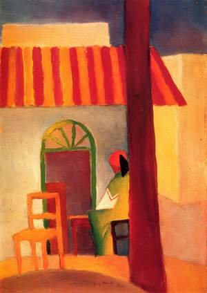 Expressionism painting reproductions: Turkish Cafe