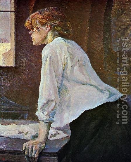 The Laundress by Toulouse-Lautrec - Reproduction Oil Painting