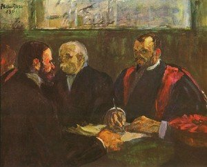 Reproduction oil paintings - Toulouse-Lautrec - Examination At Faculty Of Medicine