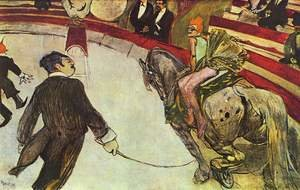 Reproduction oil paintings - Toulouse-Lautrec - The Circus