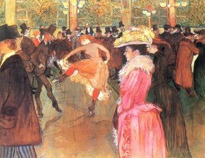 Reproduction oil paintings - Toulouse-Lautrec - Party In Thr Moulin Rouge