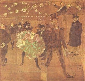 Reproduction oil paintings - Toulouse-Lautrec - Party In Thr Moulin Rouge Ii Jpg