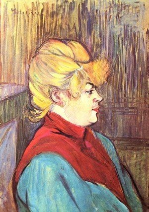 Reproduction oil paintings - Toulouse-Lautrec - Brothel Worker
