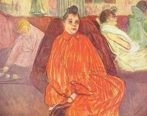 Reproduction oil paintings - Toulouse-Lautrec - The Madam