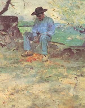 Reproduction oil paintings - Toulouse-Lautrec - The Young Man From Celeyran