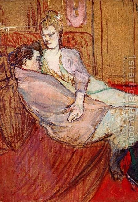 Two Friends 3 by Toulouse-Lautrec - Reproduction Oil Painting