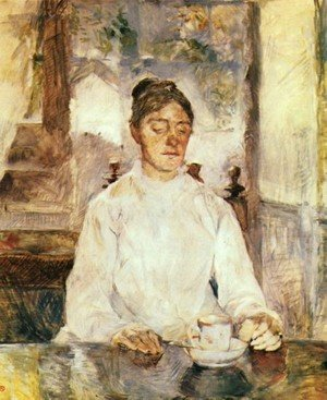 Reproduction oil paintings - Toulouse-Lautrec - The Mother Of The Artist