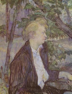 Reproduction oil paintings - Toulouse-Lautrec - Woman In Garden