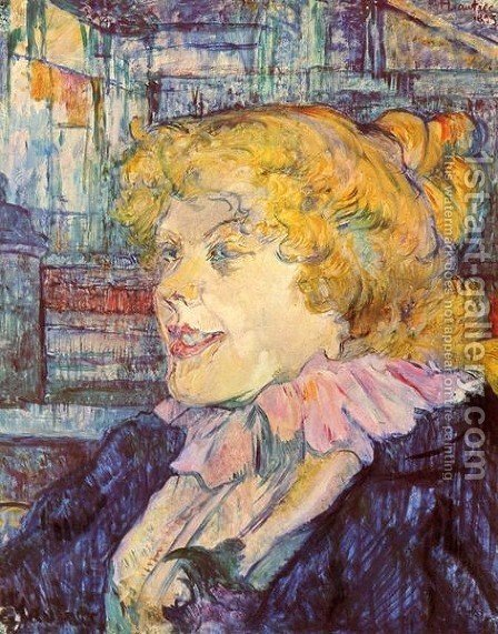 Portrait Of Miss Dolly by Toulouse-Lautrec - Reproduction Oil Painting