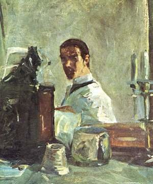 Reproduction oil paintings - Toulouse-Lautrec - Self Portrait Before A Mirror