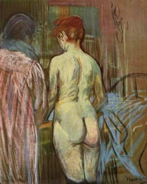 Reproduction oil paintings - Toulouse-Lautrec - Two Girls