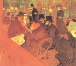 Toulouse-Lautrec reproductions - At The Moulin Rouge