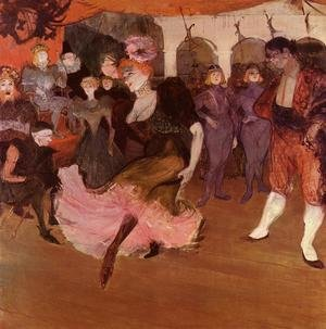 Reproduction oil paintings - Toulouse-Lautrec - Marcelle Lender Doing The Bolero In Chilperic