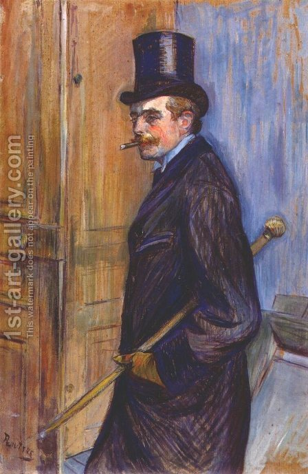Monsieur Louis Pascal 1891 by Toulouse-Lautrec - Reproduction Oil Painting