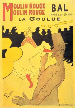 Reproduction oil paintings - Toulouse-Lautrec - Moulin Rouge La Goulue