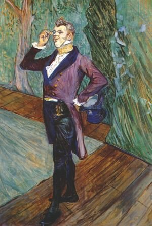 Reproduction oil paintings - Toulouse-Lautrec - The Actor Henry Samary