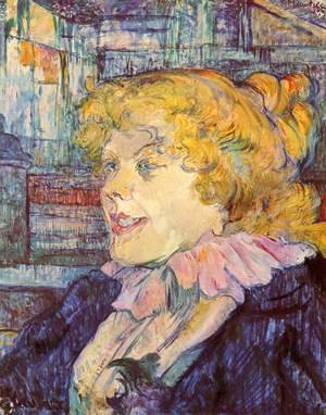 Reproduction oil paintings - Toulouse-Lautrec - The English Girl From The Star At Le Havre