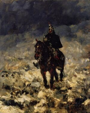 Reproduction oil paintings - Toulouse-Lautrec - Cuirassxier