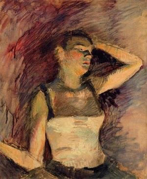 Reproduction oil paintings - Toulouse-Lautrec - Study Of A Dancer