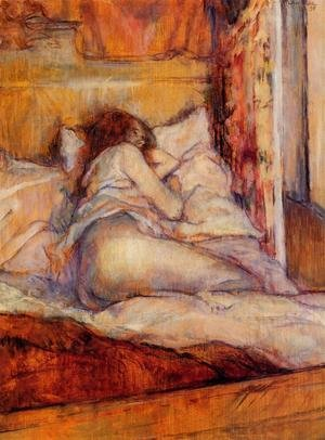 Reproduction oil paintings - Toulouse-Lautrec - The Bed