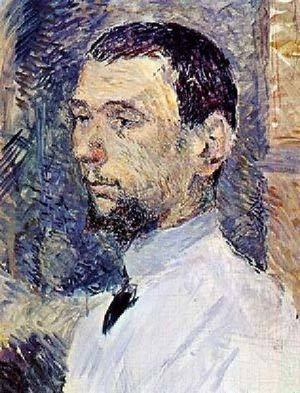 Reproduction oil paintings - Toulouse-Lautrec - The Artist Francois Gauzi